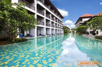 P27BA2104003 ขายโรงแรม 4ดาว ติดหาดไม้ขาว 12-3-11 ไร่ 850 ล้าน