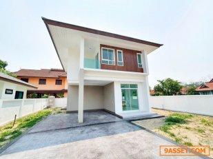 T01228 ขายบ้านเดี่ยว โครงการหมู่บ้านเวียงดอย ใกล้ รพ.ดอยสะเก็ด ตอบโจทย์ทุกไลฟ์สไตล์การอยู่อาศัย