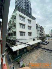 ขายอาคารพาณิชย์ 6 ชั้น 2 คูหา 39 ตรว. ทำเลดี ติดรถไฟฟ้า BTS สะพานควาย