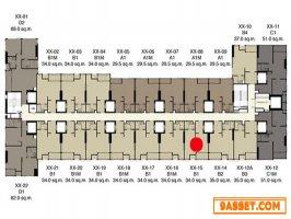 ขายดาวน์ขาดทุน ที่ IDEO Q สยาม-ราชเทวี 1 ห้องนอน 34ตรม ลิฟท์ส่วนตัว