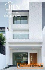 L624 ขาย Home Office 3 ชั้น 38 ตรว. โฮมออฟฟิศใหม่ ใจกลางเมือง ใกล้ BTS อ่อนนุช