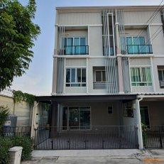 ขาย Townhome 3ชั้น หมู่บ้านPatio พัฒนาการ38 ตกแต่งโมเดิร์นพร้อมอยู่