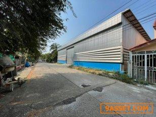 ขายโกดังรังสิต พร้อมอาคารสำนักงานสร้างใหม่มีใบอนุญาตก่อสร้าง