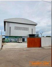 FPL 261 ขายโรงงาน โกดัง เนื้อที่ 3 ไร่  พื้นที่ใช้สอย 800 ตรม.  ถนนเลียบคลองหลวง สมุทรสาคร