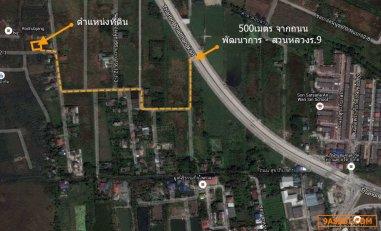 ขายที่ดินเปล่าราคาเจ้าของ ซ.อ่อนนุช 70/1 (ใกล้ถ.พัฒนาการ-สวนหลวง ร.9 เพียง 500 ม.)