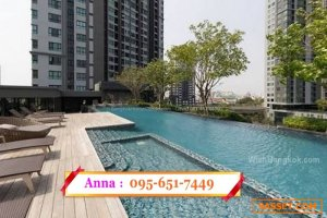 1 Bed Condo For Sale with tenant - The Base Park  West Sukhumvit 77 by Sansiri near BTS On Nut