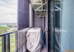 ให้เช่าคอนโด 1 ห้องนอนติดรถไฟฟ้า Modiz Station เฟอร์นิเจอร์ระดับโรงแรม พร้อมอยู่ 24 ตรม. ชั้น7