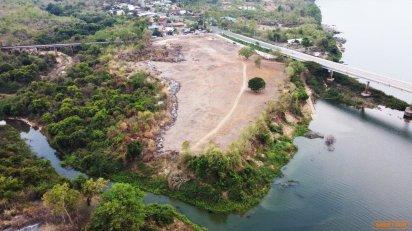 ขายที่ดินโขงเจียม อุบลราชธานี ติดริมน้ำ 16 ไร่ 1 งาน 30.9 ตรว.