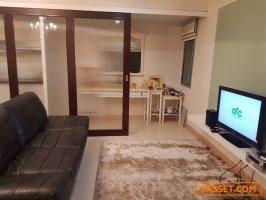 ขายด่วน!!!  My Resort Bangkok  46 ตรม. 1 ห้องนอน  Built-in  ใกล้ MRT เพชรบุรี อโศก