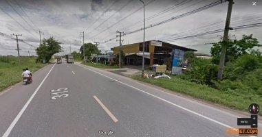 LS116 ขายที่ดิน 23 ไร่อยู่บนถนนสาย 315(ถนนศุขประยูร) อยู่ห่างจากแยกพนัสนิคมเพียง 3 km