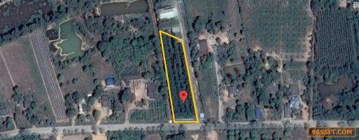 BS064 ขายถูกที่ดินพร้อมโกดัง 7 ไร่เศษ อยู่ใกล้กับถนนสาย 331 ต.หัวถนน อ.พนัสนิคม จ.ชลบุรี