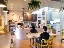 เซ้งร้านกาแฟ แต่งสวย พร้อมอุปกรณ์ @โครงการ Market Today ถนนกรุงเทพกรีฑา ซอย7
