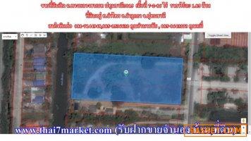 ขายที่ดินติด ถ.ทางหลวงชนบท ปทุมธานี3015 เนื้อที่ 7-2-86 ไร่  ราคาไร่ละ 1.85 ล้าน