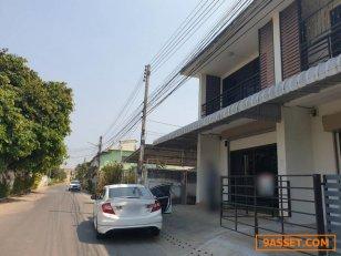 S00028 ขายทาวน์โฮม 2 ชั้น ในเมือง หลังเทศบาลแม่เหียะ อยู่ในแหล่งชุมชน ค้าขายได้ สงบ บรรยากาศดี