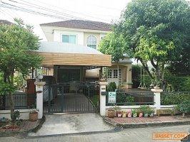 61122 ขาย บ้านเดี่ยว 2 ชั้น หมู่บ้าน วรารมย์ เพชรเกษม 69  พื้นที่ 59.5 ตารางวา สภาพสวย พร้อมอยู่