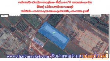 ขายโรงงานติด ถ.โยธาธิการ นนทบุรี2029 เนื้อที่ 11-2-74 ไร่  ราคายกแปลง 120 ล้าน