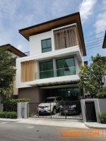 รหัสC1461  ให้เช่า ขาย บ้านเดี่ยว3ชั้น โครงการ AQ arbor สวนหลวง( บ้านใหม่ )ตกแต่งสวยเฟอร์ครบ