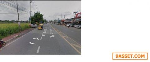 ขายที่ดิน 14-0-41  ไร่  ที่ดิน ติดถนนวัดลาดปลาดุก (ถนน 4ช่องจราจร) เหมาะทำธุรกิจมากมาย