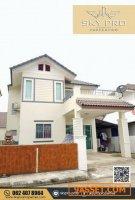 ขาย บ้านเดี่ยว 2 ชั้น ในหมู่บ้าน ถนนวงแหวนรอบ 3 พร้อมอยู่