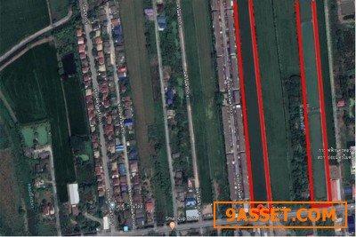 ขายที่ดิน250ไร่ติดกับถนนมิตรไมตรี ทั้งสองแปลงหน้ากว้าง40เมตร ลึกประมาณ450เมตร ใกล้BIG Cหนองจอก