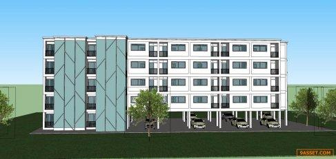 ขาย อพาร์ตเมนท์ ซอยลาดพร้าว 112 ใกล้โรงเรียนบดินทร์เดชา   60 ห้องนอน 30 ห้องน้ำ