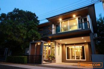 ขายบ้านเดี่ยว2ชั้นย่านลาดพร้าว จอมพล จตุจักร โครงการThe gallery house patternซอยลาดพร้าว1