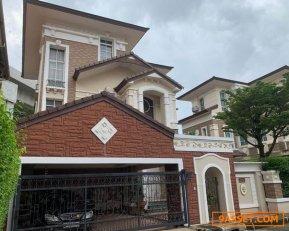 ขายบ้านเดี่ยว 3 ชั้น บ้านกลางกรุง เดอะไนซ์ รัชวิภา เนื้อที่ 72.3 ตรว