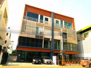 ขายด่วน! Home Office 4 ชั้น (เลียบด่วน เอกมัย-รามอินทรา) 44.6 ตร.ว. 417 ตร.ม. 10 นอน 5 น้ำ หน้ากว้าง 10 เมตร ภายในจอดรถได้ 6 คัน