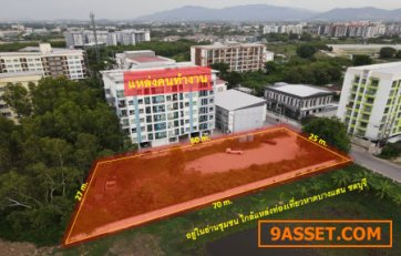 ขายถูก ที่ดินใกล้หาดบางแสน จ.ชลบุรี (เหมาะสร้าง คอนโด อพาร์ทเม้นท์) 388 ตร.ว. ถนนกว้าง 8 m. ทำเลคนทำงาน แหล่งชุมชน พร้อมแหล่งท่องเที่ยว