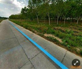 ขายที่ดิน สวนยางเนื้อที่17ไร่ ( ติดถนนและบริเวณใกล้เคียงมีบ่อน้ำ)