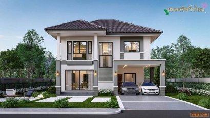 ขายบ้านเดี่ยว 2 ชั้น สร้างใหม่หลังใหญ่ จ.เชียงใหม่ ติดถนนดอยหล่อ-จอมทอง ทำเลดีมาก ใกล้เซเว่น โลตัส จองเพียง 5,000 บาท