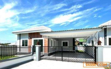 บ้านสวยสร้างด้วยใจ เสมือนอยู่เองพร้อมส่งมอบ ให้กับลูกค้าผู้โชคดีเพียง 3 ครอบครัว เท่านั้น