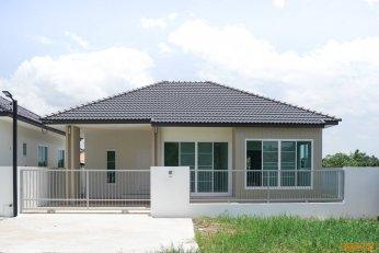 ขายบ้านเดี่ยว ชั้นเดียว สร้างใหม่ **ราคา 1.79 ล้านบาท**สร้างใหม่ ก่อสร้างด้วยวัสดุคุณภาพ