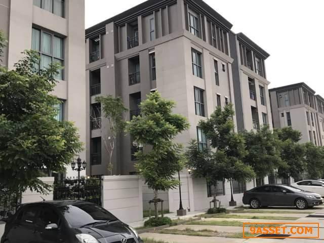 A61-0470 ขายคอนโด เมซอง การ์เด้น แจ้งวัฒนะ Maison Garden Chaeng Watthana ชั้น5 พร้อมที่จอดรถ