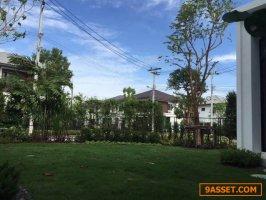ขายบ้านใหม่ บ้านเดี่ยวหลังมุม หมู่บ้านมัณฑนา 4 วงแหวนกาญจนาภิเษก ขนาด 70 ตรว. บ้านสวยพร้อมอยู่