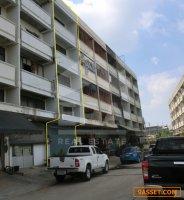 อาคารพาณิชย์ 4.5 ชั้น เนื้อที่ 16 ตร.ว. ถนนติวานนท์-ปทุมธานี