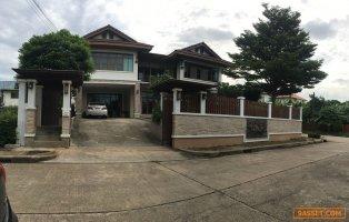ขายบ้านเดี่ยว พระราม 2 ขายบ้านหรู 2 ชั้น ใกล้มหาชัย 5 นอน 6 น้ำ เหมาะทำสำนักงาน และพักอาศัย