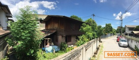 ขายที่ดิน ในคูเมือง 69 ตรว พร้อมสิ่งปลูกสร้างบ้านไม้2ชั้น