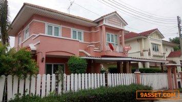 ขาย บ้านเดี่ยว 2 ชั้น หมู่บ้านมณีรินทร์ พาร์ค ปทุมธานี