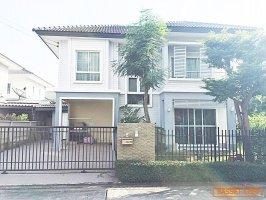 63051 บ้านเดี่ยว โครงการ ม.พฤกษาวิลเลจ 24 ธัญบุรี ปทุมธานี หลังหัวมุม