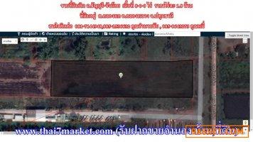 ขายที่ดินติด ถ.ธัญบุรี-วังน้อย เนื้อที่ 8-0-0 ไร่  ราคาไร่ละ 1.8 ล้าน