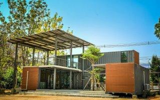 ขายบ้าน/ออฟฟิตคอนเทนเนอร์ พร้อมตกแต่งสวยงาม - Container House For Sale