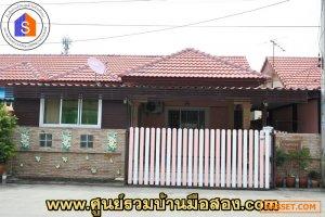 บ้านแฝด 1 ชั้น หมู่บ้านสมหวังทรัพย์หมื่นแสน  ถนนโรจนะ  จ.อยุธยา