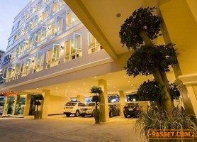 รหัส R602 ขาย โรงแรม 5 ชั้น ตกแต่งสวยงาม พร้อม Loof Top Bar พัทยา จอมเทียน