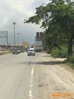 L130 ขายที่ดิน 519 ตรว. (ถ.กาญจนาภิเษก23 ใกล้มอเตอร์เวย์)ติดถนนเลียบมอเตอร์เวย์บางนา-บางปะอิน ใกล้ด่านทับช้าง,สนามบินสุวรรณภูมิ