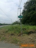 ขายที่ดินเปล่าทำเลติดถนนใหญ่ 5 ไร่ ซ. ไอยรา35 ถ. เลียบคลองรพีพัฒน์ อ. คลองหลวง จ. ปทุมธานี
