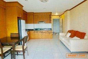 For Sale Condo A.D. Condo WongAmat 1BR/2BA, 6 Floor, 72 Sq.m.