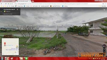 ขายที่ดิน ถ.ทางหลวงชนบท ปทุมธานี3004 เนื้อที่ 3 ไร่  ราคาไร่ละ 4.5 ล้าน