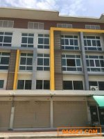 Code5312 ขายตึกใหม่ 4 ชั้นครึ่ง 2 คูหา เยื้องกับห้าง Image Mall อิมเมจมอลล์ พุทธมณฑลสายสี่