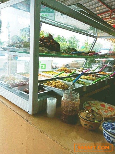 เซ้งด่วน!! ร้านข้าวแกง มีครบ @ติดถนนกาญจนาภิเษก บางบอน